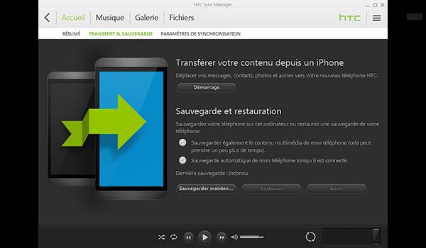 HTC One M8 - Logiciels - Comment effectuer une sauvegarde de votre appareil - Étape 4