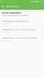 Samsung G930 Galaxy S7 - Anrufe - Rufumleitungen setzen und löschen - Schritt 12