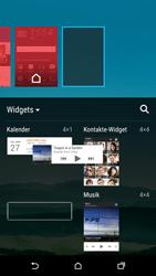 HTC One M9 - Startanleitung - Installieren von Widgets und Apps auf der Startseite - Schritt 6