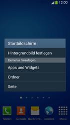 Samsung Galaxy S 4 Active - Startanleitung - Installieren von Widgets und Apps auf der Startseite - Schritt 4