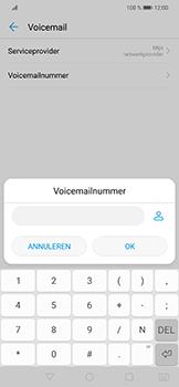 Huawei P Smart Plus - voicemail - handmatig instellen - stap 8
