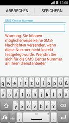 Huawei Ascend Y550 - SMS - Manuelle Konfiguration - Schritt 7