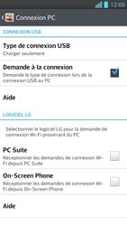 LG Optimus F5 - Internet et connexion - Utiliser le mode modem par USB - Étape 5