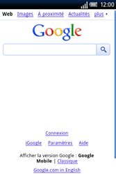 Sony Xperia X8 - Internet - Navigation sur Internet - Étape 4