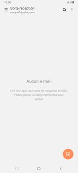 Samsung Galaxy A80 - E-mails - Ajouter ou modifier votre compte Yahoo - Étape 5