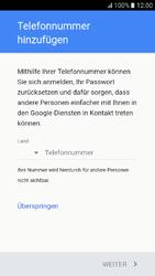 Samsung Galaxy A3 (2017) - Apps - Konto anlegen und einrichten - 14 / 22