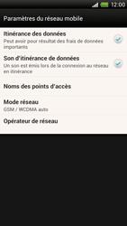 HTC One X Plus - Internet et roaming de données - Désactivation du roaming de données - Étape 6