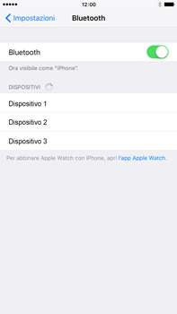 Apple iPhone 6 Plus iOS 9 - Bluetooth - collegamento dei dispositivi - Fase 6