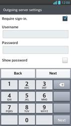 LG P875 Optimus F5 - E-mail - Manual configuration - Step 13