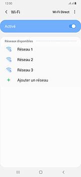 Samsung Galaxy A50 - Wifi - configuration manuelle - Étape 6