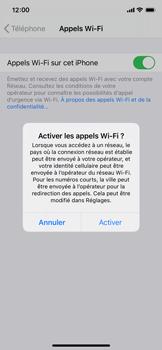 Apple iPhone 11 Pro - iOS 14 - WiFi - Activez WiFi Calling - Étape 7