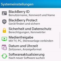 BlackBerry Q10 - Fehlerbehebung - Handy zurücksetzen - 6 / 11