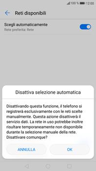 Huawei Mate 9 - Rete - Selezione manuale della rete - Fase 7