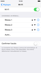 Apple Apple iPhone 7 - Wifi - configuration manuelle - Étape 4
