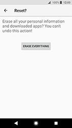 Sony Xperia XA2 - Device - Factory reset - Step 9
