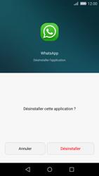 Huawei P8 Lite - Applications - Supprimer une application - Étape 6