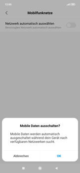 Xiaomi RedMi Note 7 - Netzwerk - Manuelle Netzwerkwahl - Schritt 9