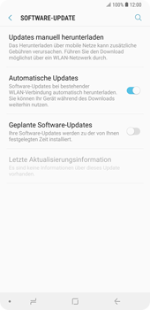 Samsung Galaxy Note9 - Software - Installieren von Software-Updates - Schritt 6