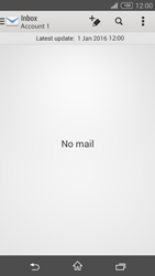 Sony Xperia Z3 Compact - E-mail - 032b. Email wizard - Yahoo - Step 4