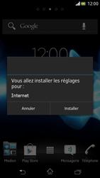 Sony LT30p Xperia T - Internet - Configuration automatique - Étape 5