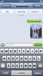 Apple iPhone 5 - MMS - Afbeeldingen verzenden - Stap 13