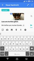 Sony Xperia XZ - MMS - Erstellen und senden - 19 / 21