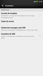 HTC One Max - SMS - configuration manuelle - Étape 10