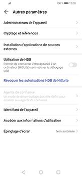 Huawei P30 lite - Sécuriser votre mobile - Personnaliser le code PIN de votre carte SIM - Étape 5