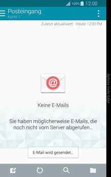 Samsung Galaxy Note Edge - E-Mail - E-Mail versenden - 1 / 1
