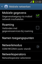 Samsung S6310 Galaxy Young - Internet - Uitzetten - Stap 6