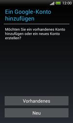 HTC One SV - Apps - Konto anlegen und einrichten - 4 / 18