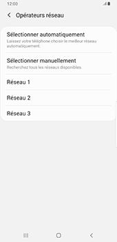 Samsung Galaxy Note9 - Android Pie - Réseau - Sélection manuelle du réseau - Étape 10