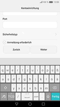 Huawei P9 Plus - E-Mail - Konto einrichten - 17 / 21