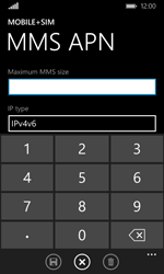 Microsoft Lumia 435 - MMS - Manual configuration - Step 10