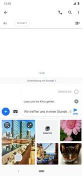 Nokia 6.1 Plus - Android Pie - MMS - Erstellen und senden - Schritt 14