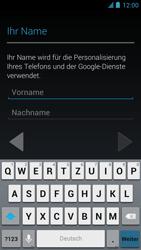 Alcatel One Touch Idol - Apps - Einrichten des App Stores - Schritt 5