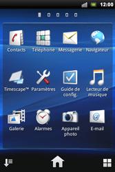 Sony Ericsson Xperia Mini Pro - Wifi - configuration manuelle - Étape 2