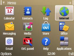 Nokia E72 - Internet - Internet browsing - Step 2