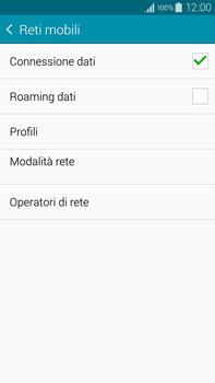 Samsung Galaxy Note 4 - Internet e roaming dati - Configurazione manuale - Fase 6