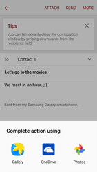 Samsung A310F Galaxy A3 (2016) - E-mail - Sending emails - Step 12