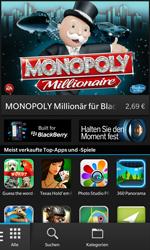 BlackBerry Z10 - Apps - Einrichten des App Stores - Schritt 3