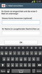 Samsung Galaxy S 4 LTE - E-Mail - Manuelle Konfiguration - Schritt 17