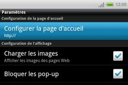 HTC A810e ChaCha - Internet - Configuration manuelle - Étape 14