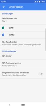 Sony Xperia 10 - Anrufe - Rufumleitungen setzen und löschen - Schritt 7
