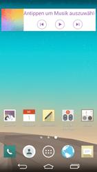 LG G3 - Startanleitung - Installieren von Widgets und Apps auf der Startseite - Schritt 3