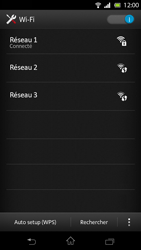 Sony LT30p Xperia T - Wifi - configuration manuelle - Étape 7