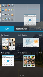 Huawei Ascend G526 - Prise en main - Installation de widgets et d