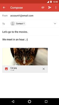 Nokia 6 (2018) - E-mail - Sending emails - Step 16