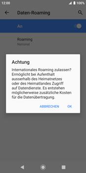 Sony Xperia XZ2 - Android Pie - Ausland - Im Ausland surfen – Datenroaming - Schritt 11