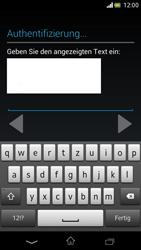 Sony Xperia V - Apps - Einrichten des App Stores - Schritt 21